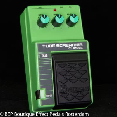 Ibanez TS-10 Tube Screamer Classic s/n 437159 Japan, JRC4558D as used by John Mayer and SRV