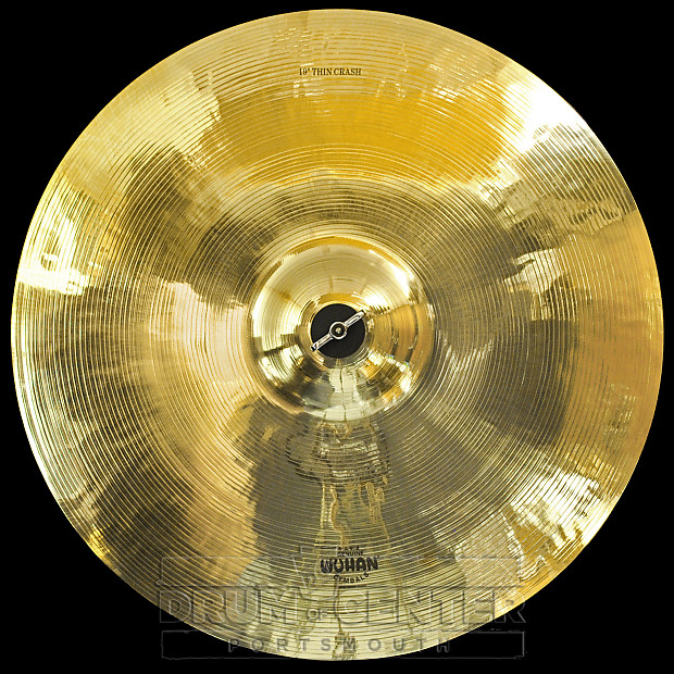 wuhan thin crash cymbal 19 drum center of portsmouth reverb. Black Bedroom Furniture Sets. Home Design Ideas