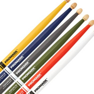 Promark Hickory Painted Sticks Gray 2BW