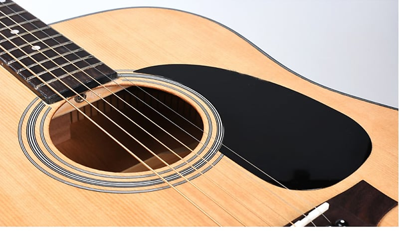 black comma tear drop martin style acoustic guitar pick guard reverb. Black Bedroom Furniture Sets. Home Design Ideas
