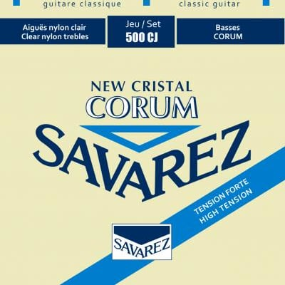Savarez Corum Cristal Strings, High Tension