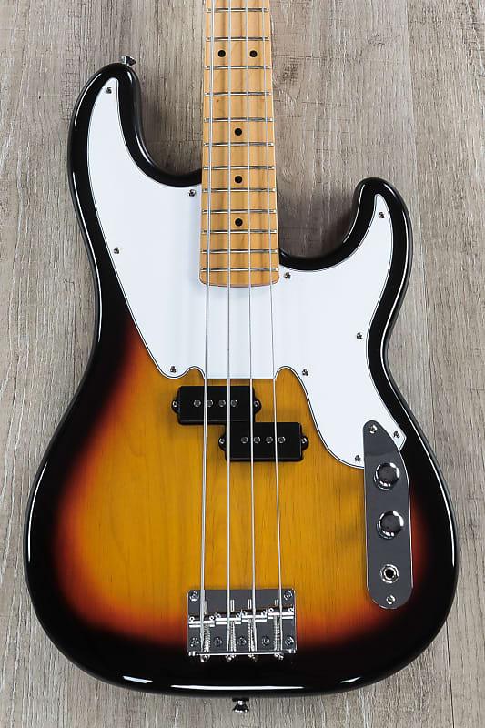 tagima guitars tw 66 electric bass guitar white pickguard reverb. Black Bedroom Furniture Sets. Home Design Ideas