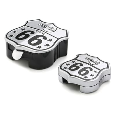 Musedo T-66 Strap Buckle Chromatic Tuner for Guitar or Bass - Route 66