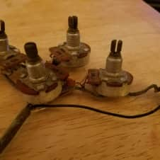 Gibson  Es  Wiring And Pots 1971 NOS VINTAGE PARTS