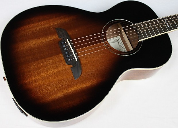 alvarez ap66esb parlor acoustic electric guitar sunburst reverb. Black Bedroom Furniture Sets. Home Design Ideas