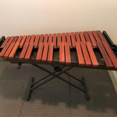 Adams Percussion AMPD30 3.0 Padouk Marimba Desktop with X-StandCover