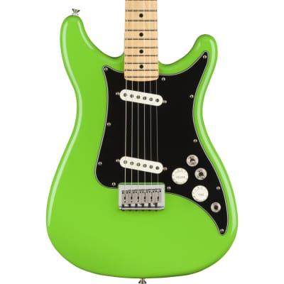 Fender Player Lead II Maple Fingerboard Neon Green Electric Guitar