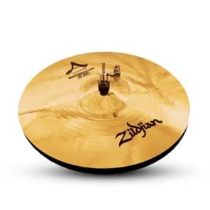 "Zildjian 14"" A Custom Mastersound Hi-Hat Pair Brilliant Finish"