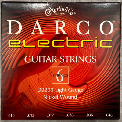Martin Darco Electric 10-46 Light Gauge Electric Guitar strings