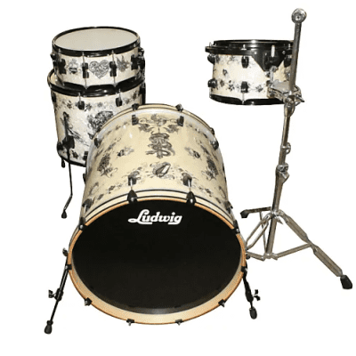 "Ludwig Element SE Corey Miller 8x12 / 14x16 / 22x22 / 7x14"" 4pc Shell Pack"