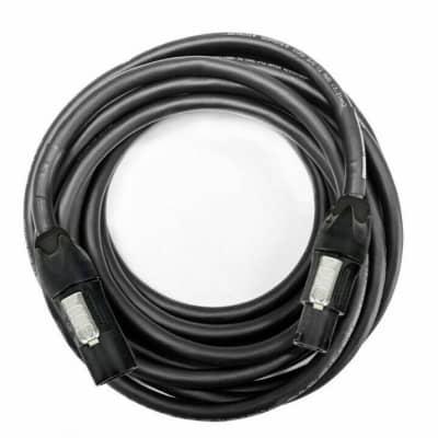 Elite Core Audio PC12-TFTM-12 12 ft Neutrik True1 Power Male to Female 20 Amp AC Extension Cable 12