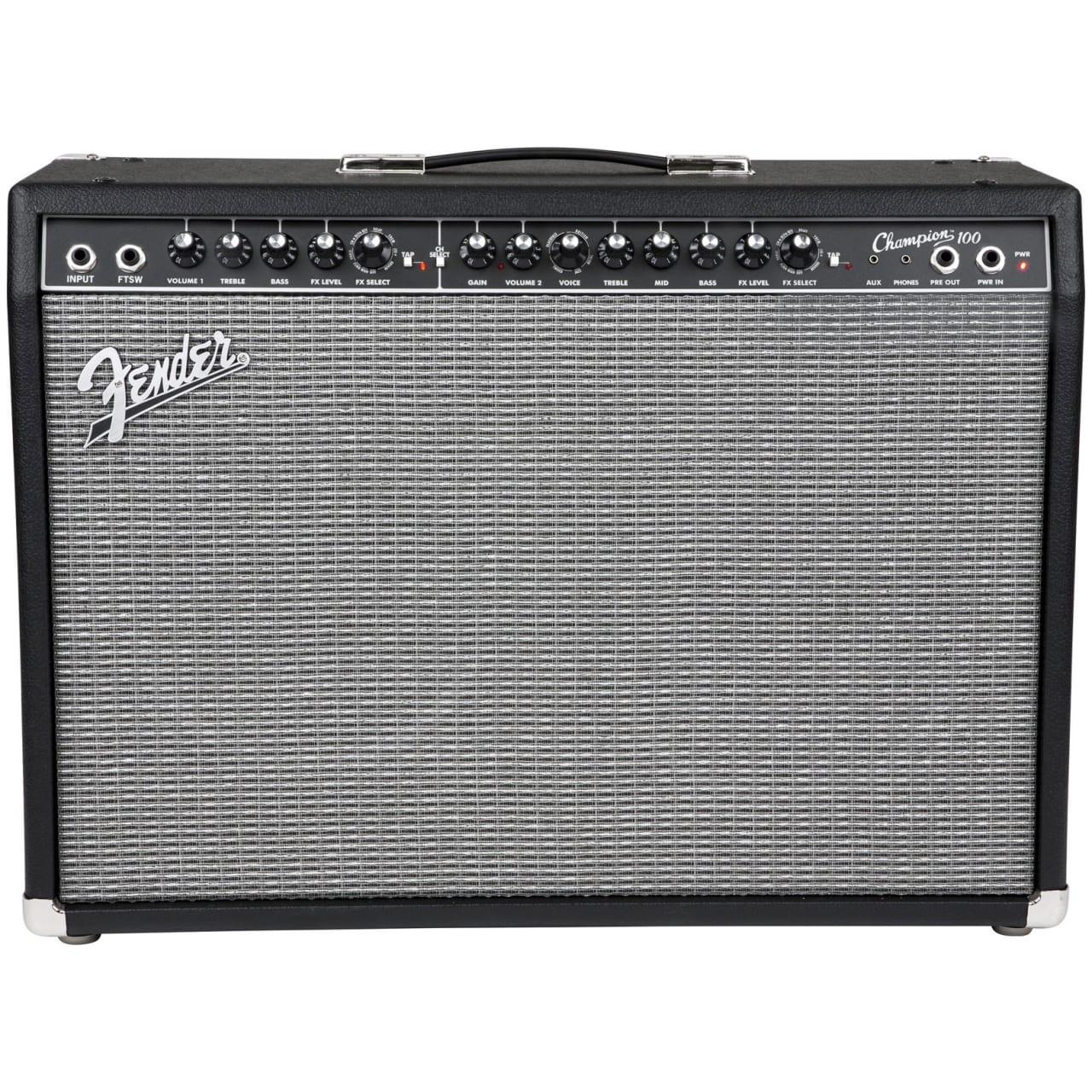 fender champion 100 guitar combo amplifier 100 watts reverb. Black Bedroom Furniture Sets. Home Design Ideas