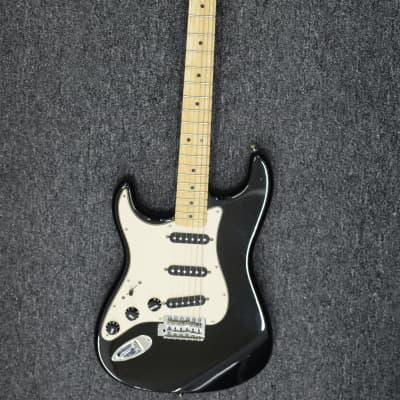 Fender Standard Stratocaster Left-Handed 2000s Black for sale