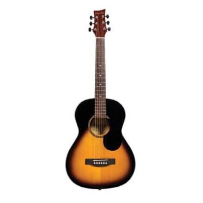 Beaver Creek 601 Series Acoustic Guitar 3/4 Size Vintage Sunburst w/Bag BCTD601VSB for sale
