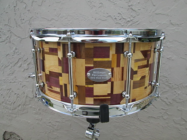 wittman stave drums 7x14 stave snare drum 2014 reverb. Black Bedroom Furniture Sets. Home Design Ideas