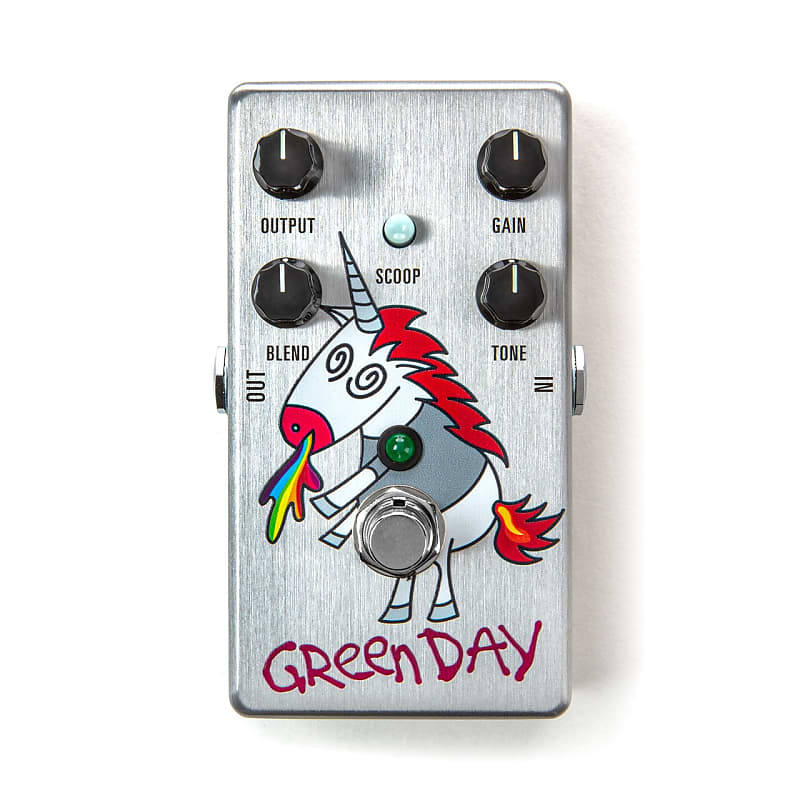 MXR DD25V3 Dookie Drive Green Day Overdrive Effects Pedal