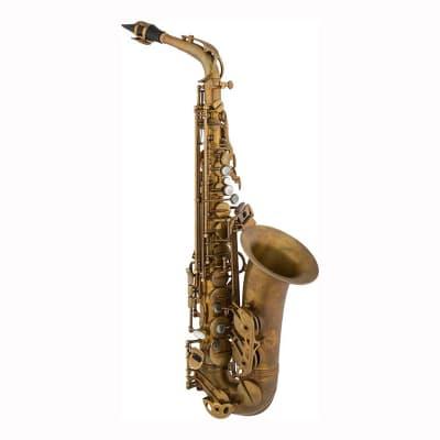 Eastman EAS652 Alto Saxophone, Aged Unlacquered Finish
