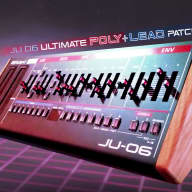 Roland JU-06 - 10 Poly and Lead Patches
