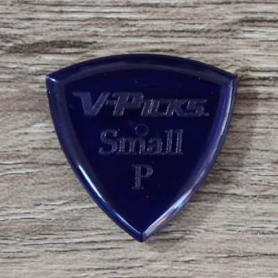 V-Picks Sapphire Small Pointed 2.75mm Clear Custom Guitar Pick