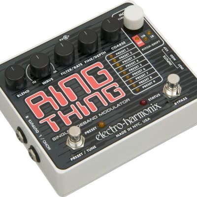 Electro Harmonix Ring Thing Modulator Guitar Effects Pedal for sale