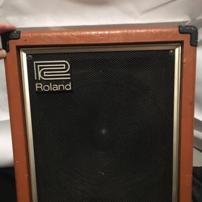 Roland Cube Bass 60 CB-60 1980s Orange
