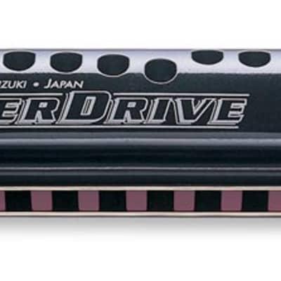 Suzuki SU-MR300 Overdrive Key of A 10-Hole Diatonic Harmonica MR-300