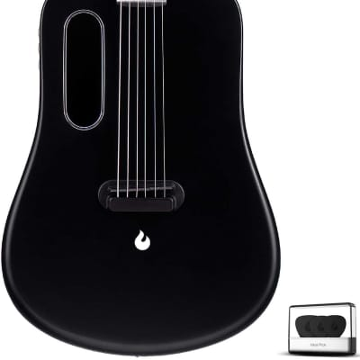 LAVA ME 2 36 inch Carbon Fiber Guitar with effects Acoustic Electric Guitar with Picks Hard Case (Fr for sale