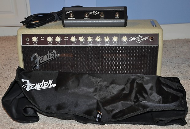 fender super sonic 22 head blonde reverb. Black Bedroom Furniture Sets. Home Design Ideas