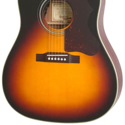 Epiphone Masterbilt AJ-45ME Acoustic/Electric Guitar - Vintage Sunburst for sale