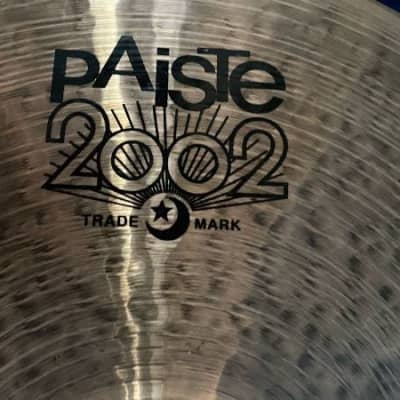 "Paiste 2002 15"" black label hi hats"
