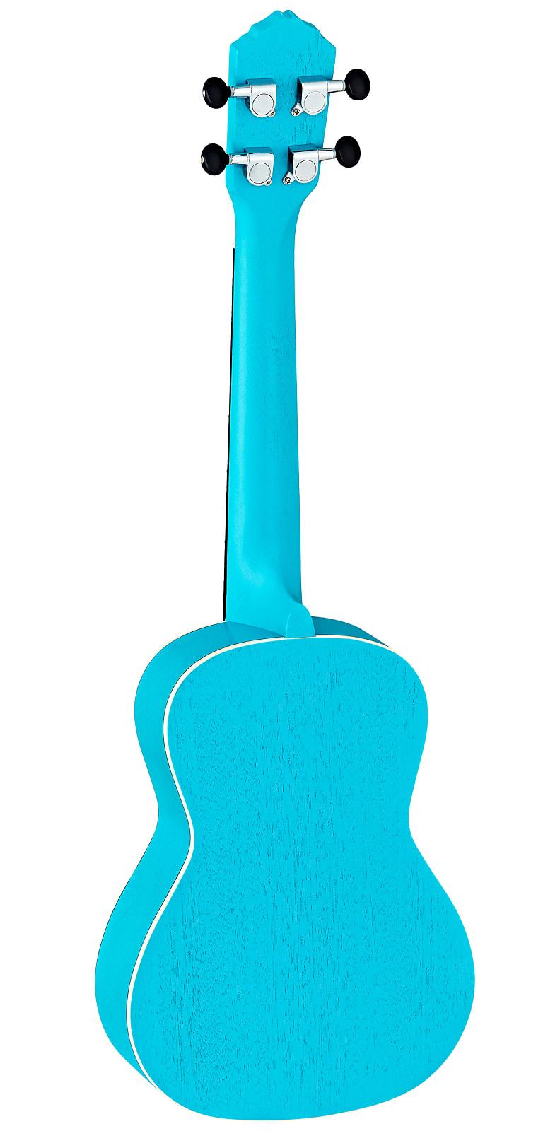 Ortega Earth Series Concert Ukulele Lagoon Turquoise