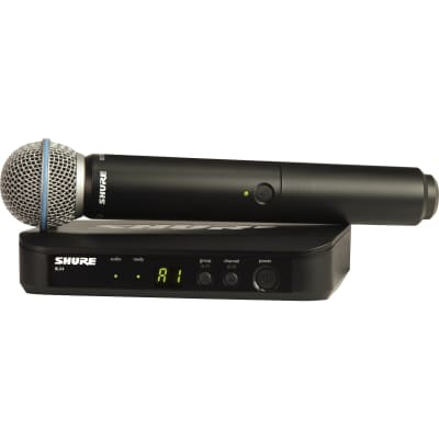 Shure BLX24/SM58-H11  Wireless Microphone System with SM58 Handheld Vocal Microphone