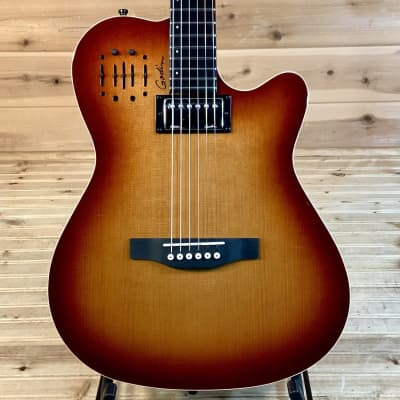 Godin A6 Ultra Acoustic Electric Guitar - Cognac Burst