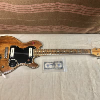 1960's Harvey Thomas Electric Guitar Project for Repair-Restoration Rare Unique for sale