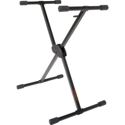 Roland KS-10X Single Brace Adjustable X-Style Keyboard Stand