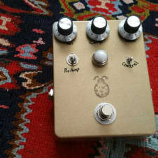 P.o.B custom handwired pedals and amps  Lady Bug Compressor and Boost 2015 Prototype