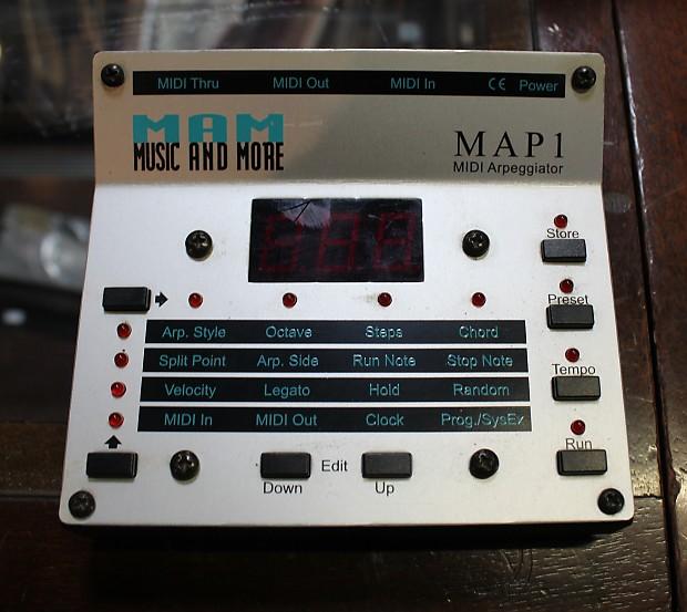 MAM Map1 Midi Arpeggiator | Swing City Music
