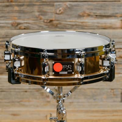 "Legend L-414PB 4x14"" Phosphor Bronze Piccolo Snare Drum"
