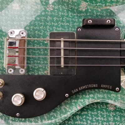 Dan Armstrong ARMUB-1 Fretless RARE Black 1971 Clear for sale