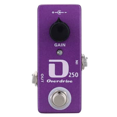 MOSKY D250 Overdrive MINI Pedal DOD-250 Style Guitar Effect MICRO Pedal image
