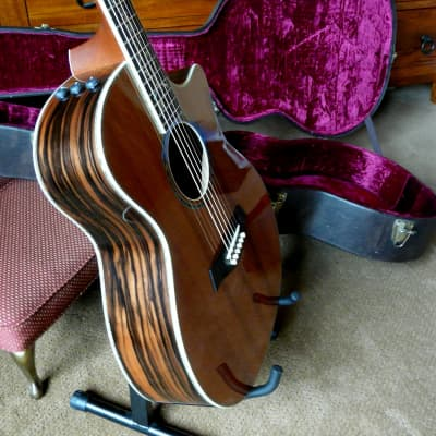 Taylor PS14ce Presentation Series 2009 Sinker Redwood / Macassar Ebony Excellent condition w/OHSC
