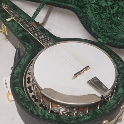 Stelling 2010 Crusader 5-String Resonator Banjo W/Case for sale