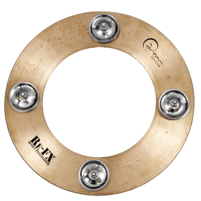 """Dream Cymbals 10"""" Crop Circle Cymbal with Jingles"""