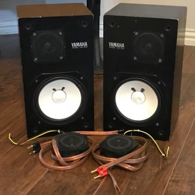 Yamaha NS-10M Studio Monitor [Matched Pair] w/ Extra Tweeters & Speaker Cables