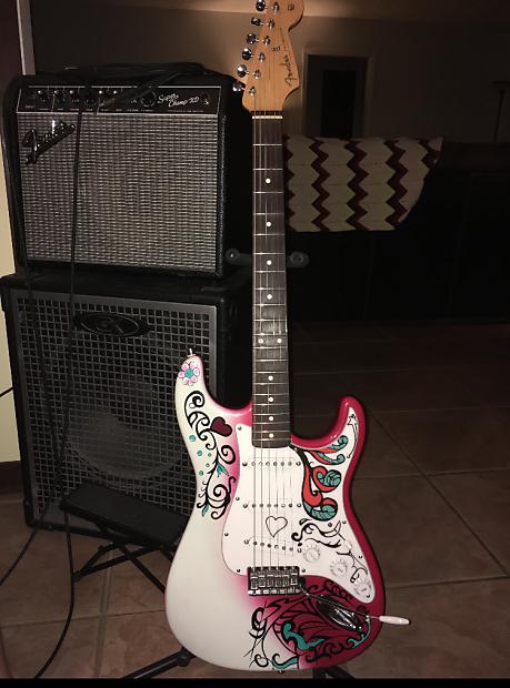 Fender John Mayer Stratocaster Monterey Pop Jimi Hendrix