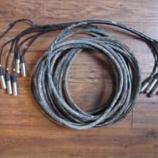 Homemade 6 channel 35 foot Recording Snake