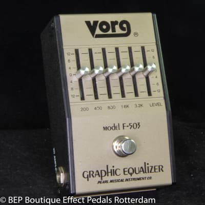Vorg F-503 Graphic Equalizer late 70's Japan
