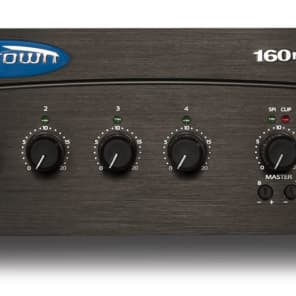 Crown 160MA Four Input  60W Mixer-Amplifier for sale
