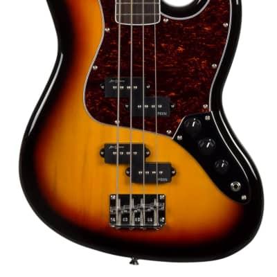 Revelation RPBX P-Bass - 3-Tone Sunburst for sale
