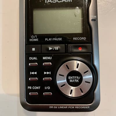 TASCAM DR-2d Linear PCM Recorder Black